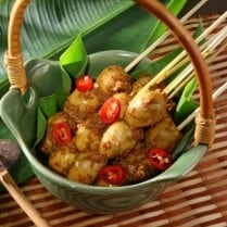 sate telur puyuh